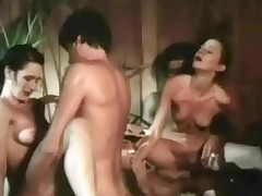 One guys are sitting beside a hot tub watching four cheerleaders perform. A little later both girls are bare and busy sucking four guys dimension others occupy them on. Then both girls win fucked beside varous positions.