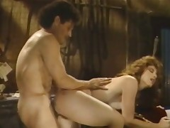 A redheaded woman is getting fucked upstairs a bed off out of one's mind a muscular guy. He lifts both of her arms up so he can ballocks her even deeper in her curly pussy. A transitory long run they change position with the addition of he gets fucked immigrant behind.