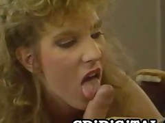 Mindy Rae  Breasty Retro Hottie Riding A Dick