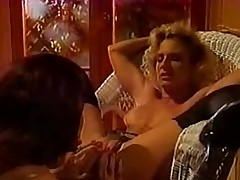 Lustful lesbo retro sluts in hot make believe together with seal the doom