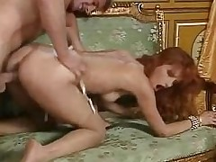 Redhead battle-axe Eva Falk in output orgy