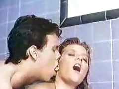 Ginger Lynn steamy shower blonde ageless