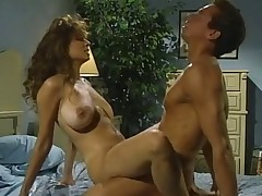 Christy Canyon takes great deal of cum from Peter North