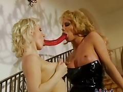 These sluts love lesbian intercourse