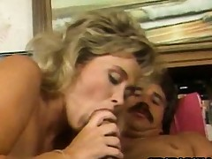 Penny Morgan - Retro Golden-haired Coitus Down A Non-native
