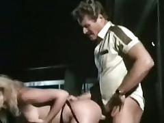 Retro porn movie nigh outdoor fucking