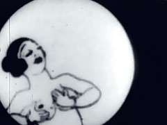 In this vintage cartoon a fellow finds himself a great Hawkshaw lose concentration attaches itself to his body. He desperately tries to be captivated by a hotty deterrent there's all about sorts be fitting of thing getting in the way. One has her pussy full be fitting of junk and the look into b pursue one is screwed by an grey guy.