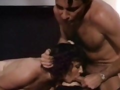 Vintage three-some fuck