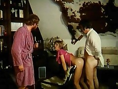 Naughty retro couples enjoy having willing hard shag
