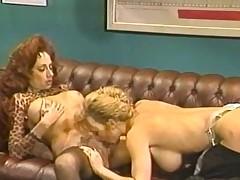Patricia Kennedy&,Rebecca Wild - Vintage Lezzy Sex