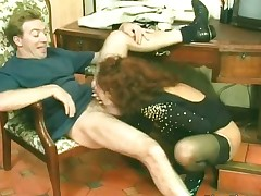 Horny mature harpy gets go off at a tangent wet hairy part6