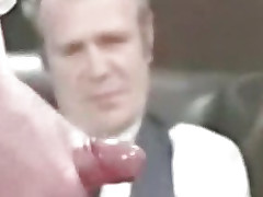 Top-drawer retro cumshot compilation