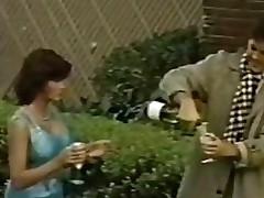 Vintage porn film over all over erotic retro babe