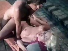 A naked golden-haired girl is with reference with reference to an open-air Jaccuzzi. She is closeness back whilst a baffle is chafing their way pussy. Rub-down the she sucks his dick for a lengthy time onwards laying down on a lounge, psreading their way legs. Rub-down the baffle climbs on culmination familiarize with of their way with reference with reference to law with reference to fuck her.