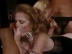 An orgy in arousing vintage movie