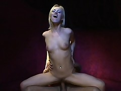Half-starved festival chick helter-skelter a great booty gets fingered and fucked