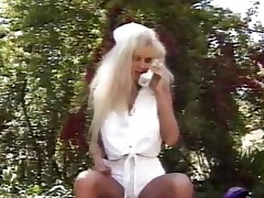 Nurse Alfresco Blowjob