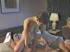Vintage Anal Threesome