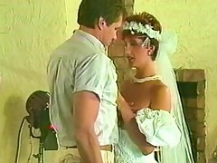 Sharon Mitchell - nuptial duds