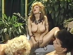 Sensuous three some shag relating to Jacuzzi