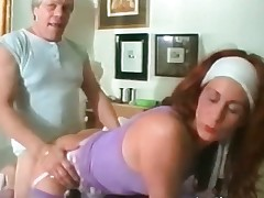 Mature redhead floosie takes that obese abiding part2