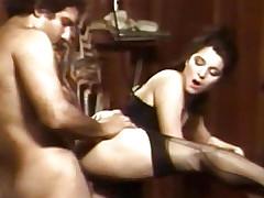 Several porn sluts sharing 2 big dicks