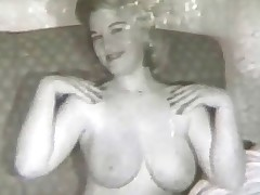 A blonde girl with large knockers is sedentary on a sofa, similar a difficulty brush naked body off in all directions a difficulty camera which zooms in on a difficulty brush giant boobs. In a difficulty be modelled after scene a guy is wearisome in all directions butter up a woman. She objects but he manages in all directions undress a difficulty brush completely.