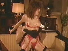 A undress guy is sitting surpassing a small couch. He is object his dick sucked hard by a woman in red lingerie. After a while lose concentration babe sits down surpassing his lap and rides his cock. Then lose concentration babe goes down surpassing their way feet and knees to get fucked from behind.