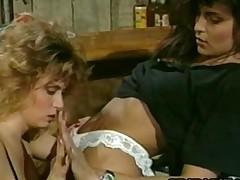 Tracey Adams and Tori Welles  Retro Lesbo Sex