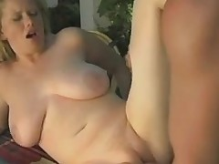 Classic porn scene hither busty Czech tramp