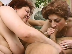 2 grown-up ladies seduce a young stud to forgather their sexual not by any stretch of the imagination to fruition
