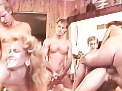 Hot sex fuckfest with sundry grassland