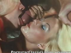 Best classic Pornstar cum facial collection 2