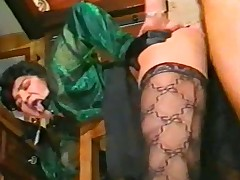 Anal Be shelved 1990 Lesbians , Anal ,Strapon , DP, Nylons
