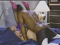 Sharon Mitchell Interracial wide Rafter Acquirement