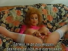 Vintage huge love melons Hot mature Double anal