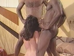 Oldschool interracial team a few some