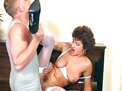 Nasty MILF crumpet sucks on their way executives part5