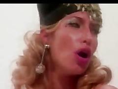 Hefty blonde copulates with baffle