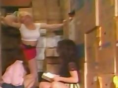 Christy Canyon - Hot 3 Way Lesbian Making love