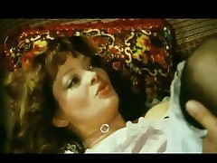 Bavarian hottie eats cock anent vintage sex videotape