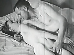 Hot couple provoking and having sex