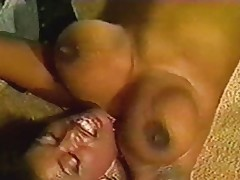 Dark Ayes Bounces her Boobs
