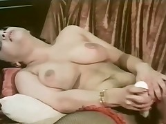 Young Clyda Rosen - scary hairy in a threesome