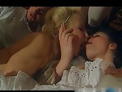 Vintage act with sexy babes who love to fuck