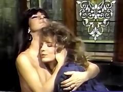 Classic Lesbian Porn In a Bubble Washroom